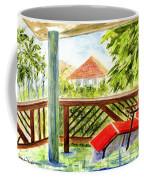 Kona View From The Deck Coffee Mug
