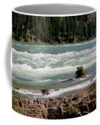Kootenai Falls Montana Coffee Mug