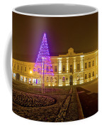 Koprivnica Night Street Christmas Scene Coffee Mug