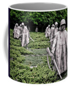 Korean War Veterans Memorial Coffee Mug by Olivier Le Queinec