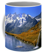 Kreuzboden Lake Coffee Mug