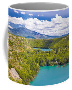 Krka River National Park Canyon Coffee Mug