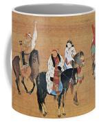 Kublai Khan Hunting Coffee Mug
