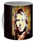 Kurt Cobain Digital Painting Coffee Mug