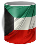 Kuwait Flag  Coffee Mug by Les Cunliffe