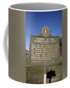 Ky-2045 Naming Of The Cumberland River Coffee Mug