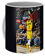 Kyrie Irving Coffee Mug by Florian Rodarte
