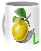 L Art Alphabet For Kids Room Coffee Mug