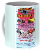 L C Rodrunner Car Show Poster Coffee Mug