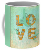 L O V E Between The Lines Coffee Mug