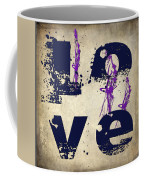 L O V E Crumbling Coffee Mug