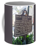 La-012 Edgar Germain Hilaire Degas Coffee Mug