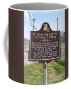 La-024 St John The Baptist Catholic Church 1770 Coffee Mug
