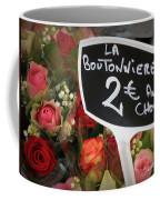 La Boutonniere Coffee Mug