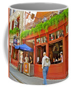 La Cage Aux Sports In Old Montreal-quebec Coffee Mug
