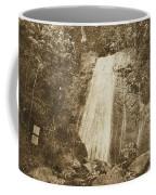 La Coca Falls El Yunque National Rainforest Puerto Rico Print Vintage Coffee Mug