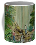La Coco Falls El Yunque Rain Forest Puerto Rico Coffee Mug