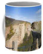 La Coupee On Sark Coffee Mug