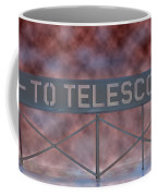 La Griffith Observatory To Telescope Coffee Mug