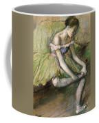 La Jupe Verte Coffee Mug by Edgar Degas