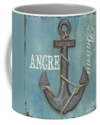La Mer Ancre Coffee Mug by Debbie DeWitt