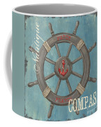 La Mer Compas Coffee Mug by Debbie DeWitt