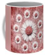 La Ronde Des Marguerites - Pink 02 Coffee Mug