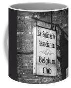 La Solidarite Association Belgium Club Coffee Mug