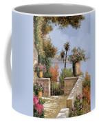 La Terrazza Un Vaso Due Palme Coffee Mug