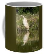 Labrador Puppy Drinking Coffee Mug