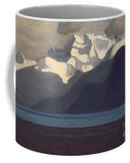 Lac Leman And Les Dents-du-midi Coffee Mug