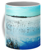 Lacassine Nwr Blue Pool Coffee Mug