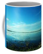Lacassine Nwr Pool Blue And Green Coffee Mug