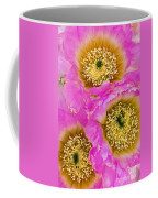 Lace Cactus Flowers Coffee Mug