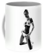 Lace Contrast Coffee Mug