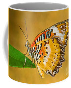 Lacewing Butterfly Cethosia Sp Coffee Mug