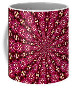 Lacy Orchid Kaleidoscope Coffee Mug