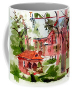 Lacy Spring Greens At Ursuline Academy Coffee Mug