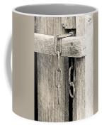 Ladder Chain Bw Coffee Mug