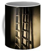 Ladders Coffee Mug by Les Cunliffe