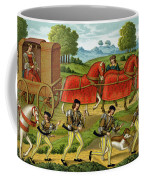 Ladies Hunting, From A Miniature Coffee Mug