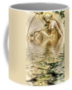 Lady Bathing Coffee Mug
