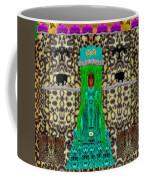 Lady Bear In The Jungle Coffee Mug