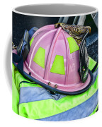 Lady Firefighter Coffee Mug