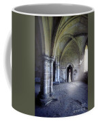 Lady In Abbey Room With Doves Coffee Mug