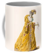 Lady In Grand Domino Dress To Wear Coffee Mug