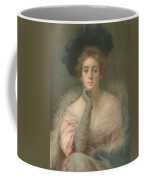 Lady In Pink Coffee Mug