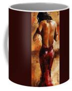Lady In Red /24 Coffee Mug