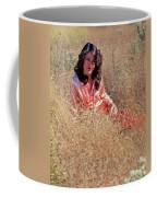 Lady In The Grass - Vert Coffee Mug