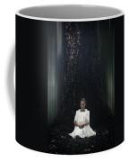 Lady In The Woods Coffee Mug